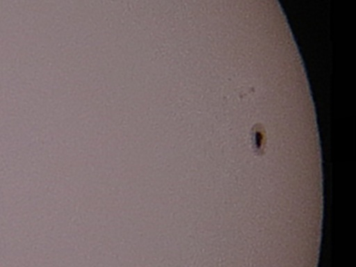 Sunspot 1899 (AR 11899) on the Sun