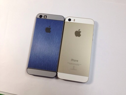 "iPhone 5S ""Blue"" and Gold"