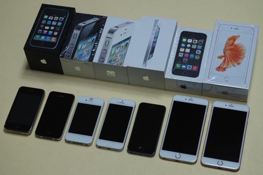 Comparing 7 Generations Of IPhones