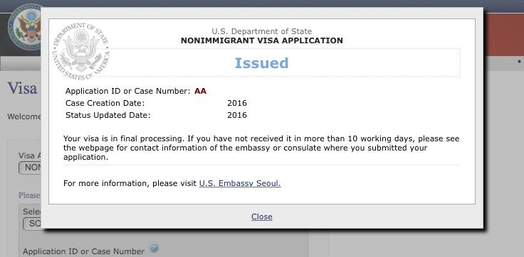 Renewing my U S  visa | Wesley's Tool-Box